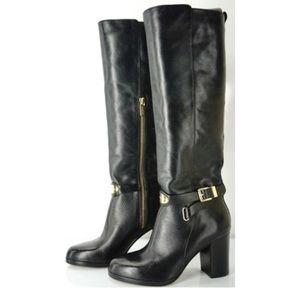 """Michael Kors """"Arley"""" Strappy Riding Knee Boot"""